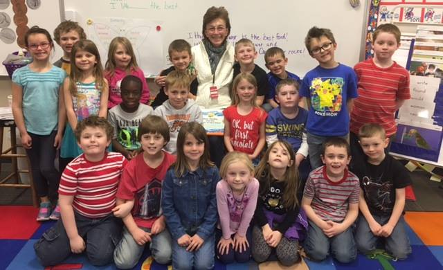 Max Gage and 1st Graders Mitchelville, Iowa
