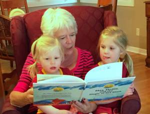 Parker, Grandmother, and Abbie, Urbandale, IA