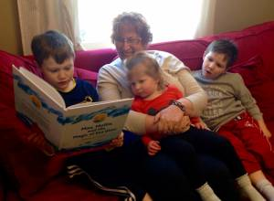 Ryan, Grandma K, Drew, and Logan: Boston, MA