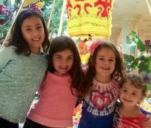 Vail, Ruby, Mamie, and Winnie, Overland Park, KS.